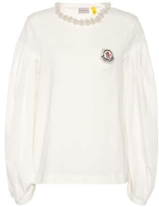 Simone Rocha Moncler Genius 4 MONCLER cotton shirt