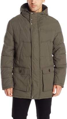 Dockers Microtwill Long Hooded Parka