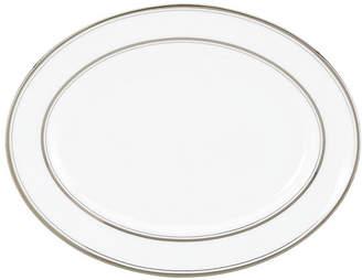 Kate Spade Library Lane Platinum Oval Platter