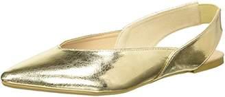 Qupid Women's Pointy Toe Ballerina Ballet Flat