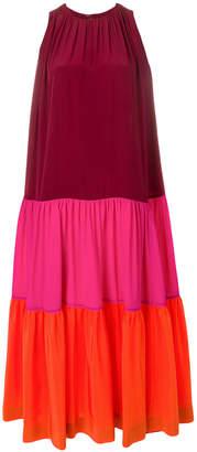 Gianluca Capannolo colour block maxi dress