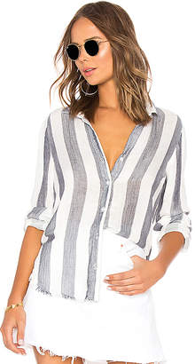 Bella Dahl Fray Tulip Hem Button Down