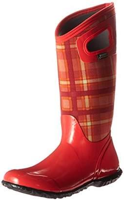 Bogs Women's North Hampton Plaid Winter/Rain Boot