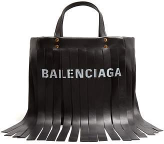 Balenciaga Laundry Fringes XS bag