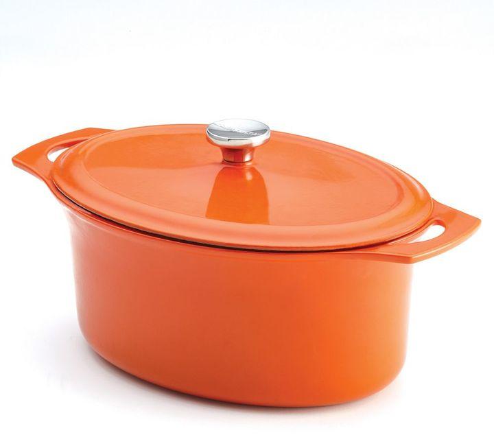 Rachael Ray 6.5-qt. Cast-Iron Covered Casseroval Dish