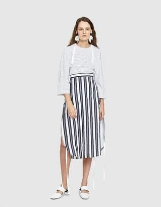 CHRISTOPHER ESBER Coiled Zip Sided Ball Skirt
