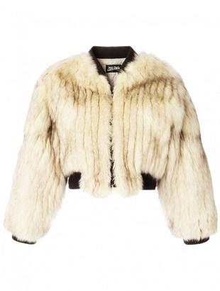 Jean Paul Gaultier Beige Fox Jackets
