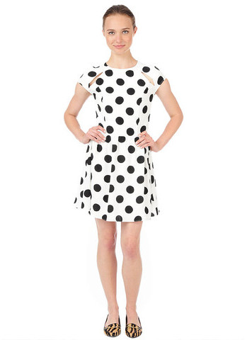 Dolce Vita Alishia Dress White Black