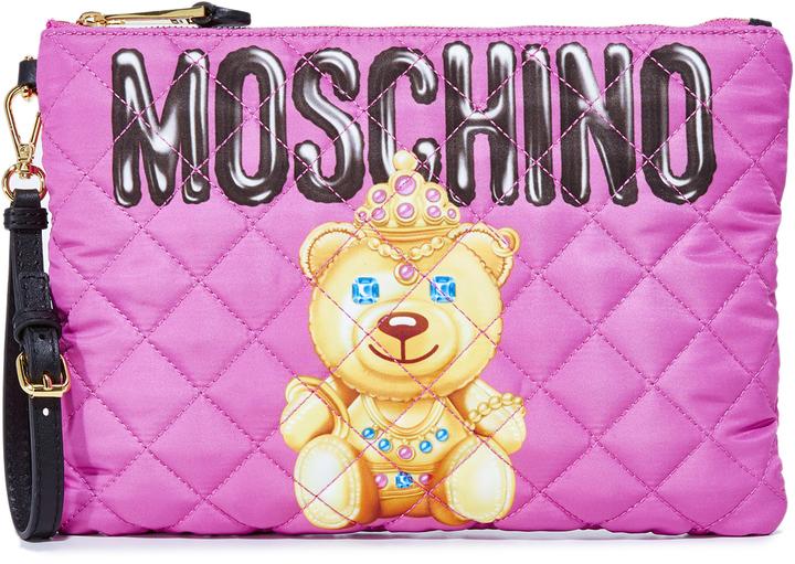 MoschinoMoschino Little Bear Pouch