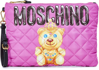 Moschino Little Bear Pouch $295 thestylecure.com