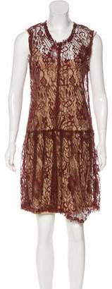 Raquel Allegra Sleeveless Lace Dress