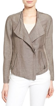 Women's Nic+Zoe 'Sundown' Moto Jacket $174 thestylecure.com