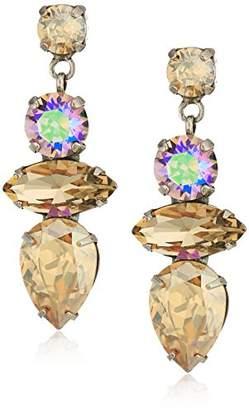 Sorrelli Mirage Multi-Cut Crystal Statement Earrings
