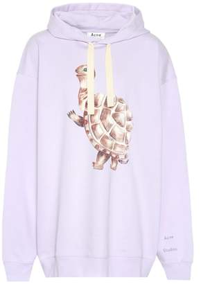 Acne Studios Fala printed cotton hoodie