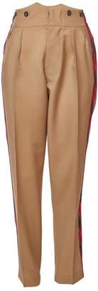 N°21 N21 Mohair and Virgin Wool Pants