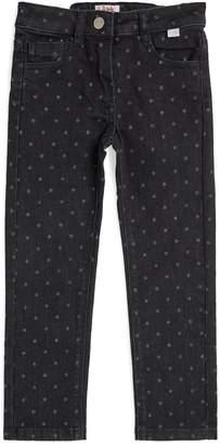 Il Gufo Glitter Detail Jeans