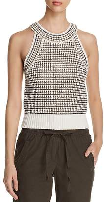 Kenneth Cole Cropped Sweater Tank