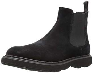 Emporio Armani Men's Casual Chelsea Boot Construction Shoe 8 Regular UK (9 US)