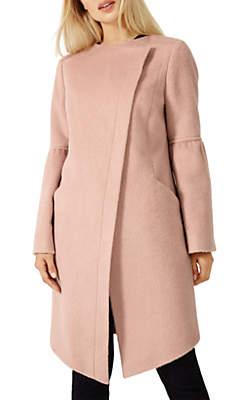 Damsel in a Dress Edenbridge Wool Coat, Dusty Pink