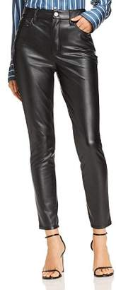 Aqua Faux Leather Skinny Pants - 100% Exclusive