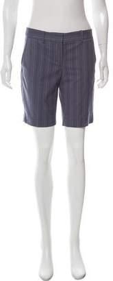BCBGMAXAZRIA Striped Knee-Length Shorts