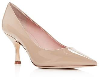Kate Spade Women's Sonia Patent Leather Kitten-Heel Pumps