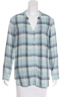 Soft Joie Long Sleeve Button-Up Top