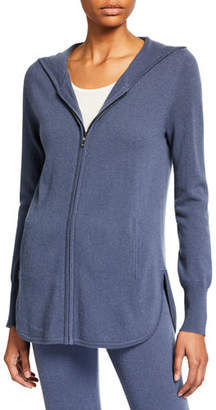 a5fcdba982f Cashmere Zip Front Hoodie - ShopStyle