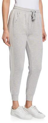Splendid Drawstring Jogger Pants with Side Stripe