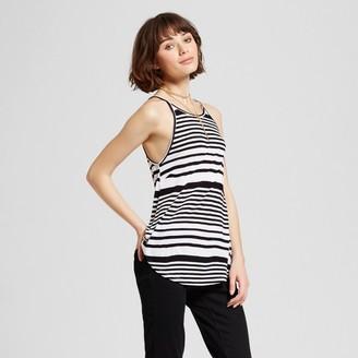 nitrogen Women's Striped Tank Black/White $27.99 thestylecure.com