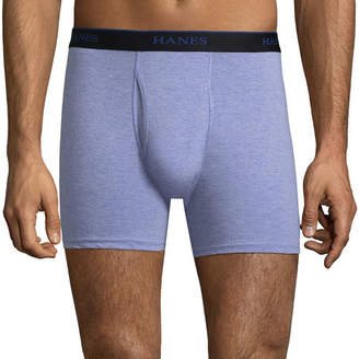 Hanes Men's Comfortblend 4 + 1 Bonus Pair Boxer Briefs