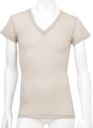 Wacoal (ワコール) - [ワコールメン]薄い、軽い、涼しい 一分袖シャツ
