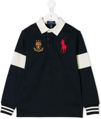 Ralph Lauren Kids long-sleeve polo shirt
