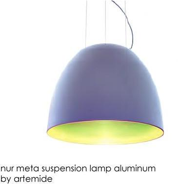 Nur Meta Suspension Lamp By Artemide