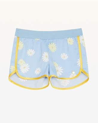 Juicy Couture Sketched Daisies Satin Short for Girls