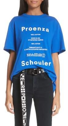 Proenza Schouler PSWL Graphic Tee