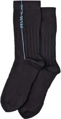 Prada technical ribbed socks