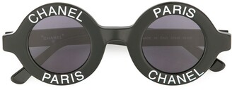 Chanel Pre-Owned CC logos sunglasses eye wear