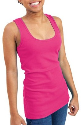 Gildan Women's Ribbed Tank Top