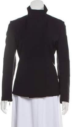 Calvin Klein Wool-Blend Zip-Up Jacket