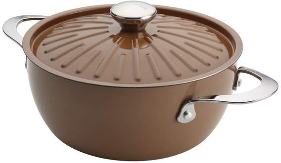Rachael Ray Cucina Oven-To-Table Nonstick 4-1 Covered Round Casserole