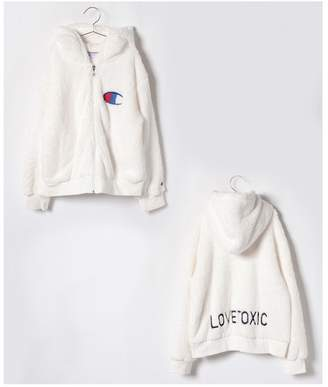 Lovetoxic (ラブトキシック) - Lovetoxic チャンピオンボアジップパーカー