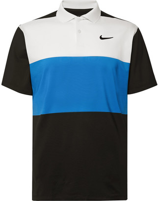 Nike Vapor Colour-Block Dri-Fit Polo Shirt