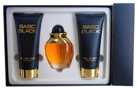 Bill Blass Basic Black Gift Set 3 Piece