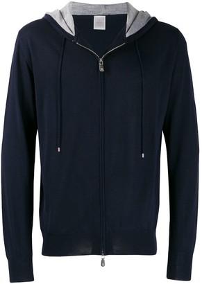 Eleventy zip front hoodie
