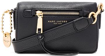 Marc Jacobs Recruit Crossbody in Black.