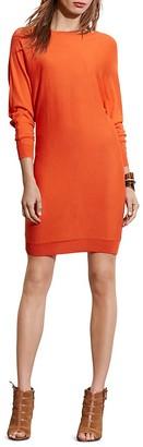 Lauren Ralph Lauren Dolman Sleeve Dress $139 thestylecure.com