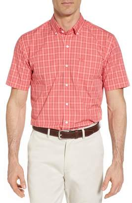 Cutter & Buck Leo Classic Fit Easy Care Sport Shirt