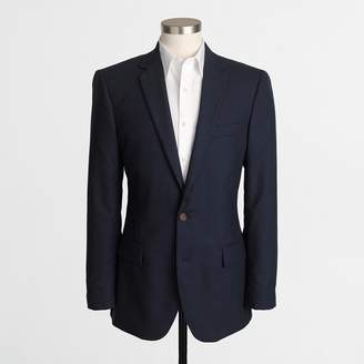 J.Crew Factory Thompson suit jacket in flex wool