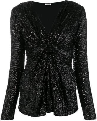 P.A.R.O.S.H. sequin party blouse